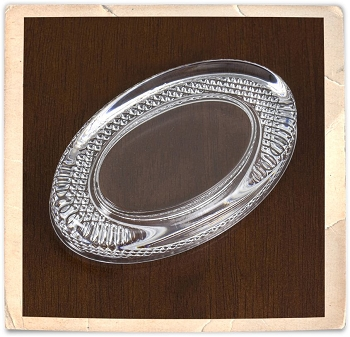 Elegant Oval Paperweight Kit