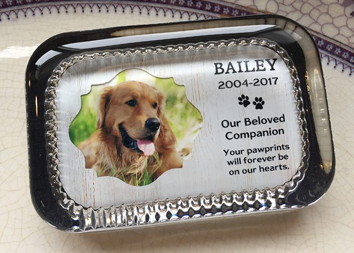Creating a Pet Memorial Paperweight